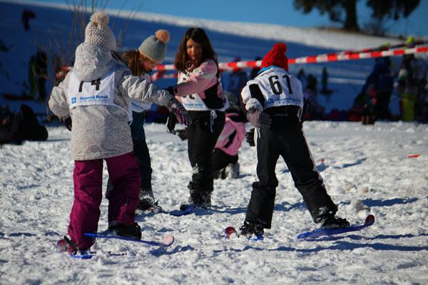 Abenteuer Schnee Aktionstage mit PistenBully Cup