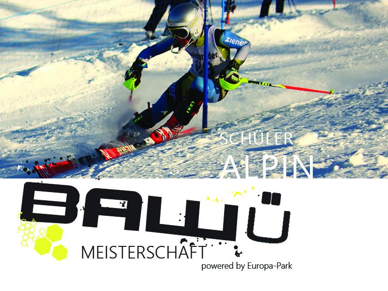 Ba-Wü Meisterschaften Schüler Alpin