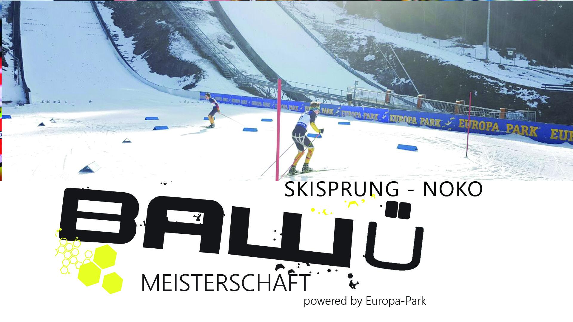 Ba-Wü Meisterschaften Noko und Skisprung