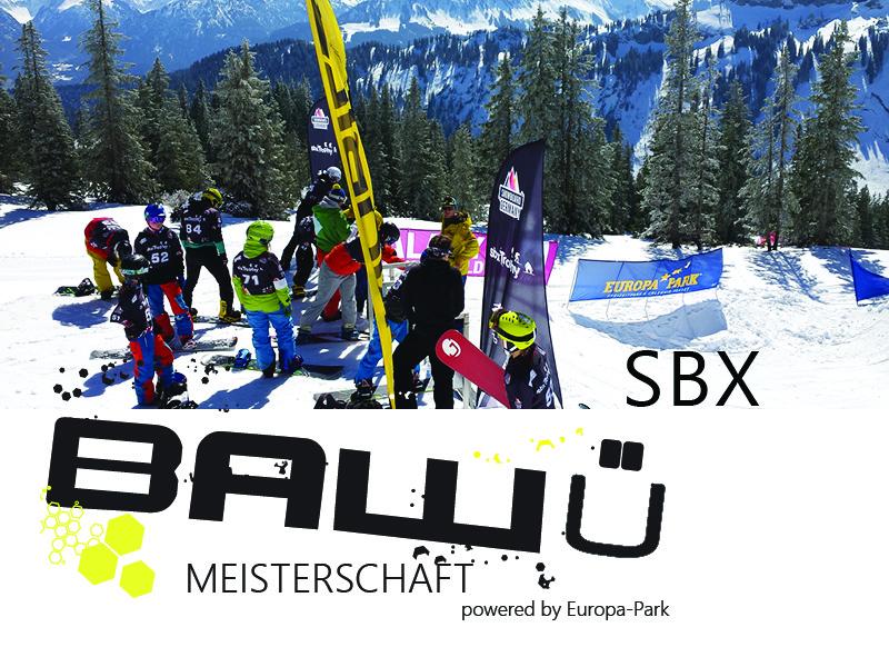 Ba-Wü Meisterschaften Snowboard SBX