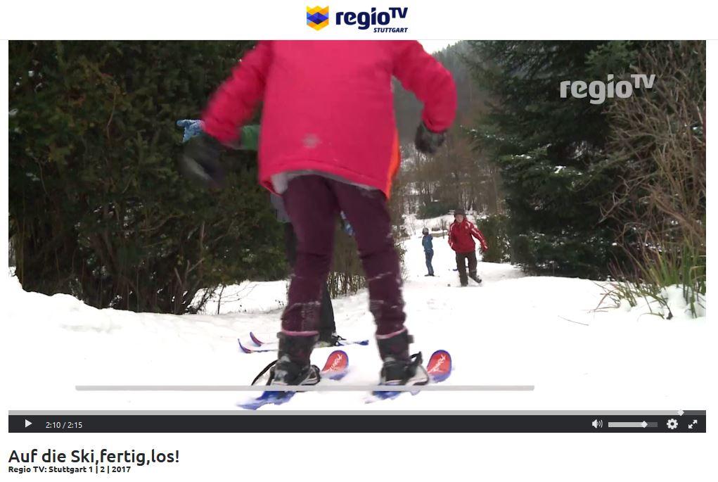 Regio.tv Stuttgart beim Aktionstag in Enzklösterle