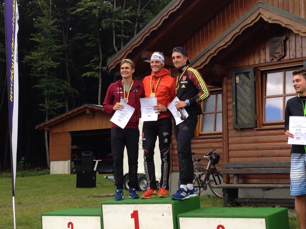 Sommer Leistungskontrolle Skilanglauf im Sauerland