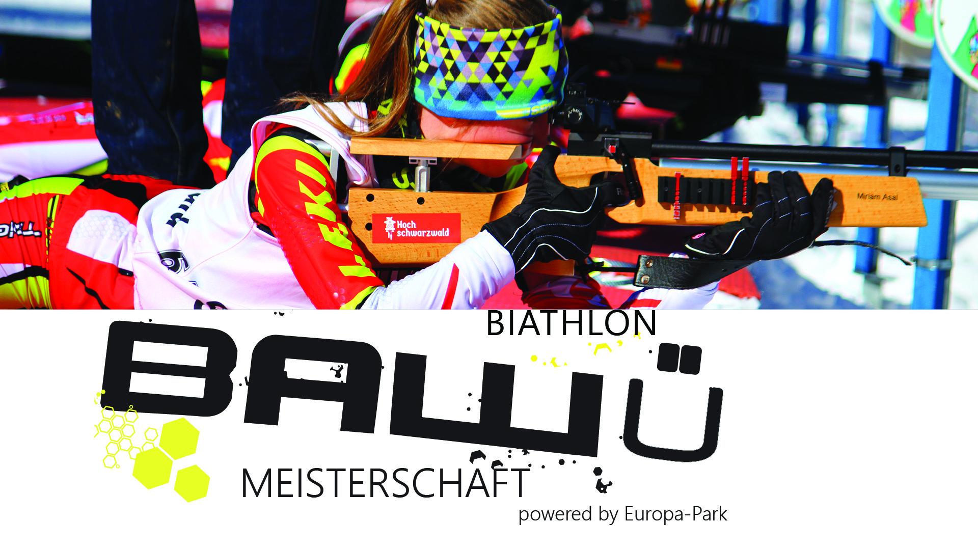 Ba-Wü Meisterschaften Biathlon