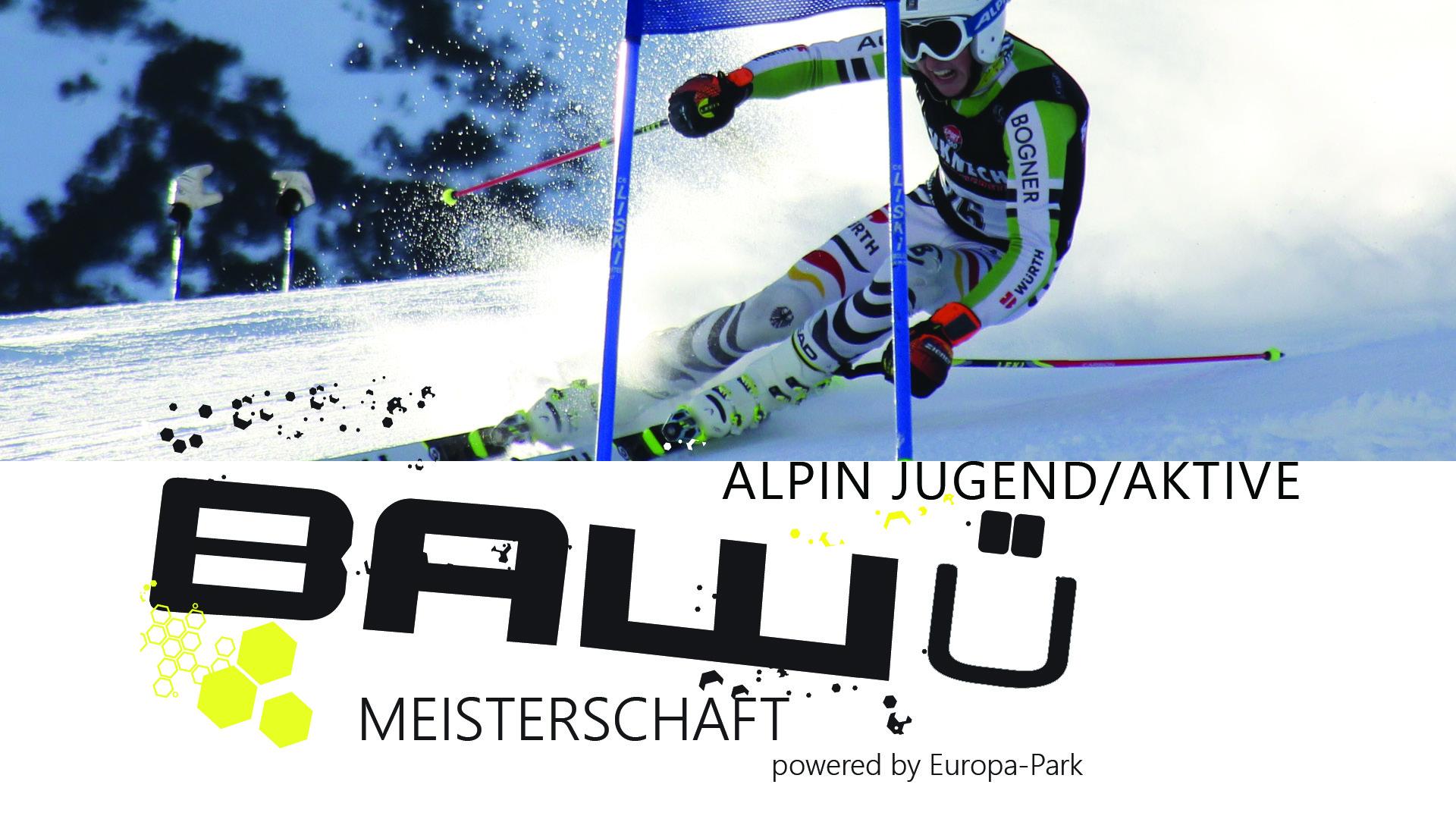 Ba-Wü Meisterschaften Jugend/Aktive Alpin
