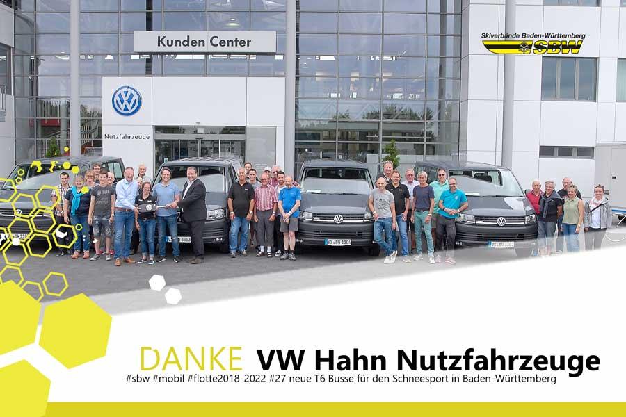 Abholung des neuen Fuhrparkes in Hannover