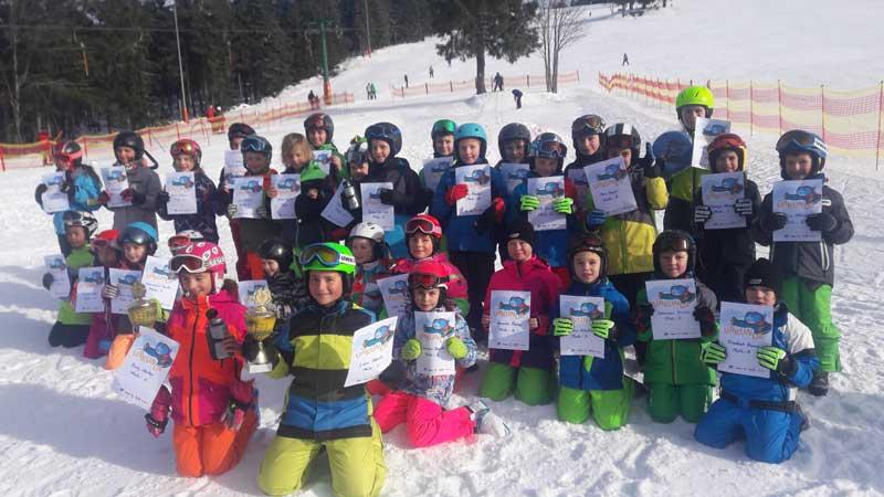 PistenBully Aktionstag und DSV Grundschulwettbewerb Skispringen Baiersbronn