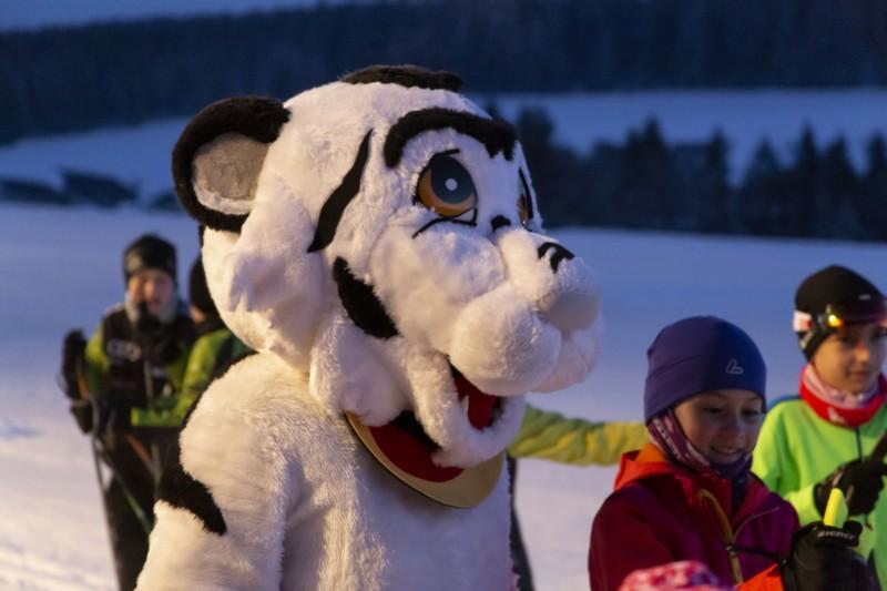 Nordische Talentwoche mit PistenBully Mini Ski in Schonach