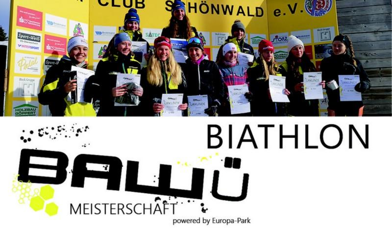 Ba-Wü Meisterschaften - Biathlon