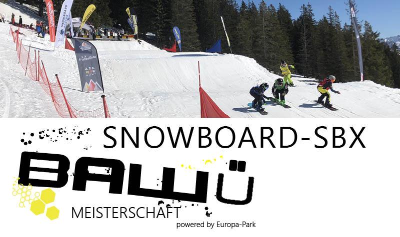 Ba-Wü Meisterschaften - SBX Snowboard