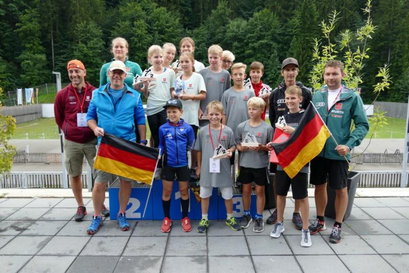 Team Baden-Württemberg I. springt zum Sieg beim FIS-Schüler-Grand-Prix in Ruhpolding