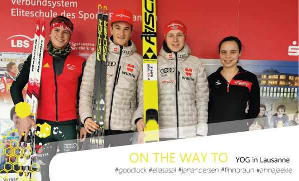 Olympische Jugend-Winterspiele mit 6 SBW Athleten