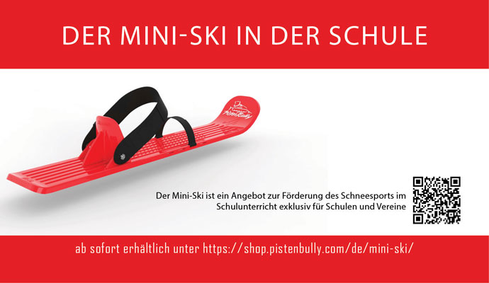 Initiative zur Förderung des Schneesports an Schulen