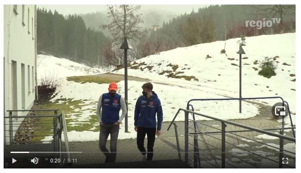 Regio TV Beitrag das Skiinternat in Zeiten von Corona – Quo vadis Wintersport? (Teil 3)